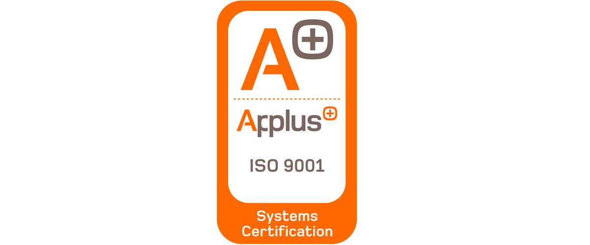 Oficialmente certificados bajo ISO 9001:2015